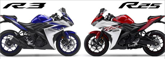 运动型摩托车雅马哈R3和R25有何不同?