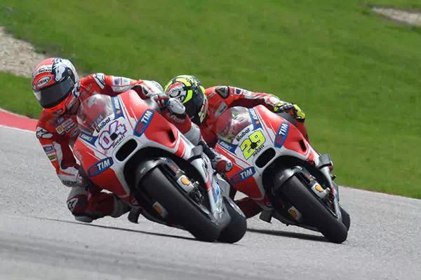 MotoGP第二场战报Neo为杜卡迪赛队加油
