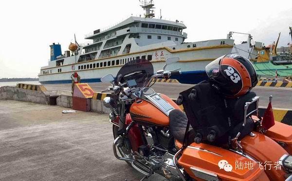 一群哈雷狂人从上海骑摩托车到海南!