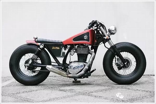 铃木S40摩托车改装欣赏