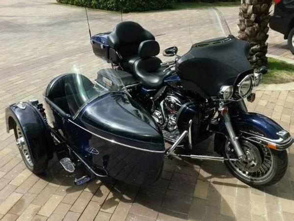 这辆哈雷侉子三轮车你喜欢吗?
