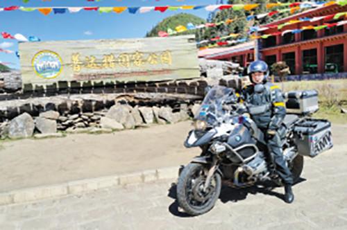 爱上骑行6年买6辆摩托玩味骑车的三种境界
