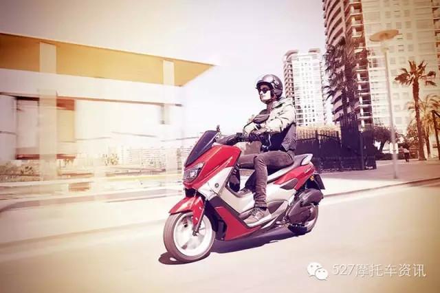 雅马哈全新踏板NMAX发布今年6月上市