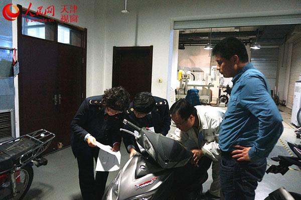 天津检疫局加强进口3C免办摩托后续监管