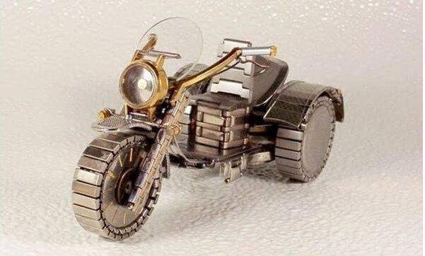 精工之美手表打造成的摩托车