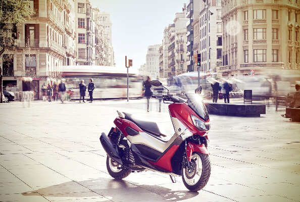 Yamaha向欧洲市场发布全新踏板2015NMAX125