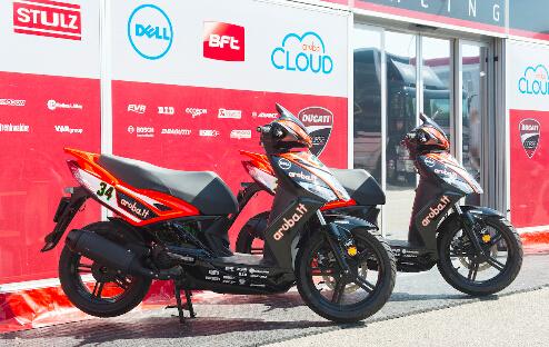 杜卡迪MotoGP、WSBK厂队以光阳Agility50作代步