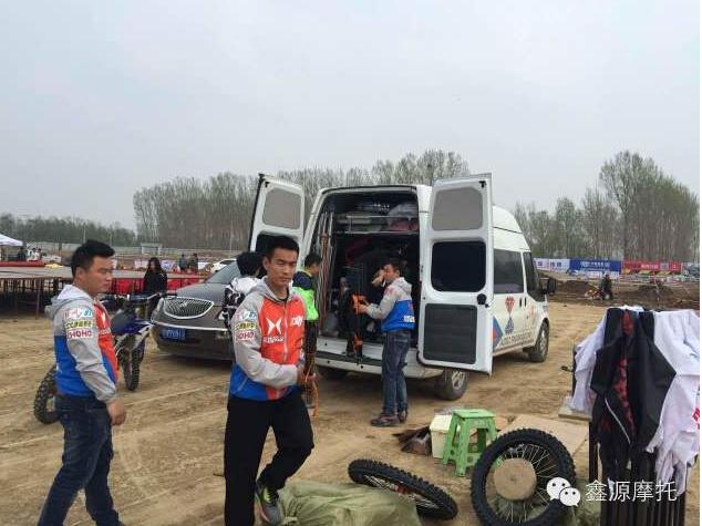 鑫源车队携X6亮相郑州超级越野摩托车大奖赛
