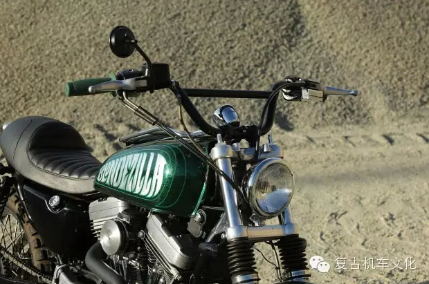 HarleySportster883改装Scrambler风格