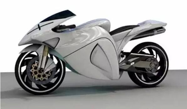 新的一年,新的概念摩托车