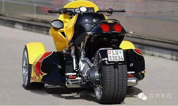 三轮摩托,可以这样玩潮