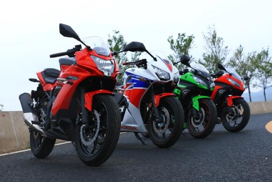 真正的忍者日系入门级运动摩托车大体验