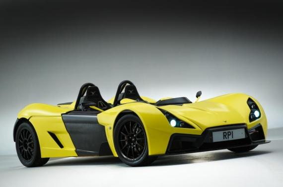 英国跑车RP1将引入本田999cc摩托车发动机
