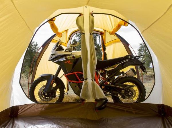 铲屎官的即视感Atacama探险摩托车帐篷