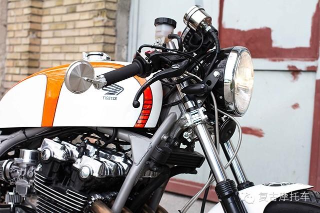 本田cb900摩托车改装欣赏