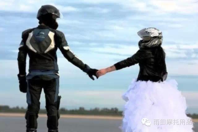 相遇,相识,相知,爱上骑摩托车的男人