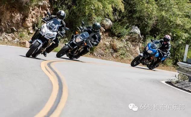 三款中级休旅摩托车对比测试