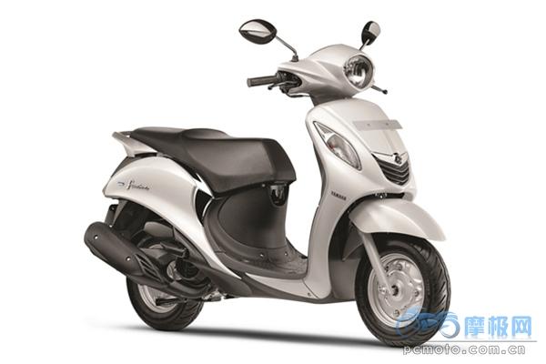 雅马哈在印度市场发布时尚踏板车Fascino