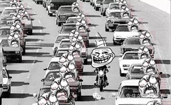 如何在堵成狗的城市交通里安全穿�而行