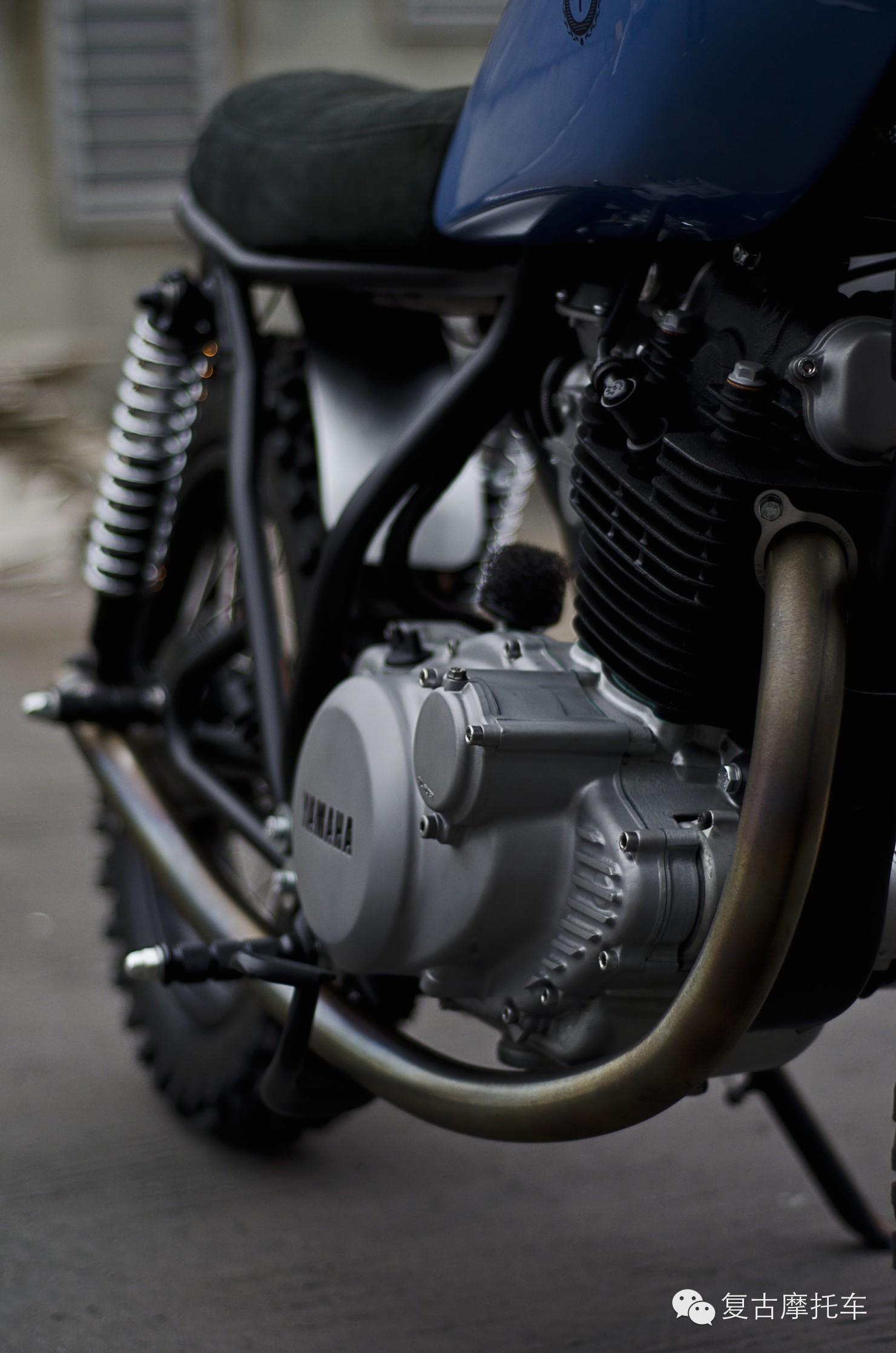 (新思路)雅马哈sr250摩托车改装