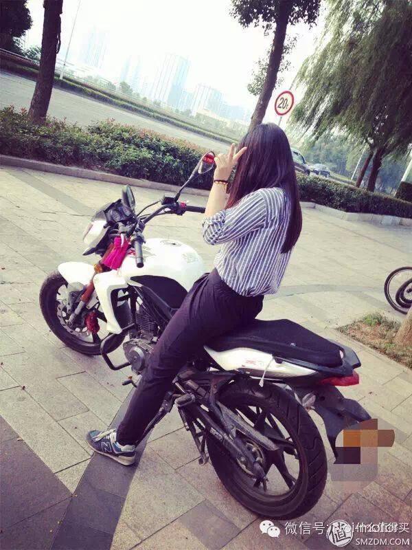 感觉帅帅哒!钱江蓝宝龙QJ150-17A摩托车