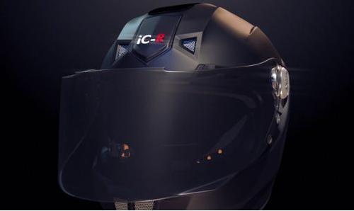智能摩托��^盔C-R更多安全更多�啡�