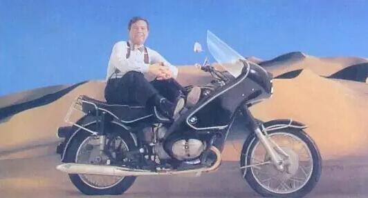 他,曾经骑着摩托车把世界的钱给赚了