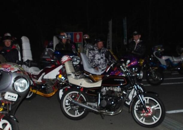 热血与青春摩托车中的非主流日本暴走族