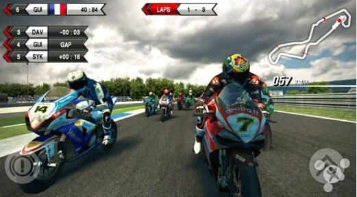 著名摩托车竞标赛新作《SBK15》正式发布