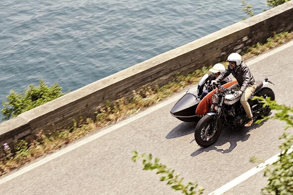YamahaXV950改装:D-Side边三轮