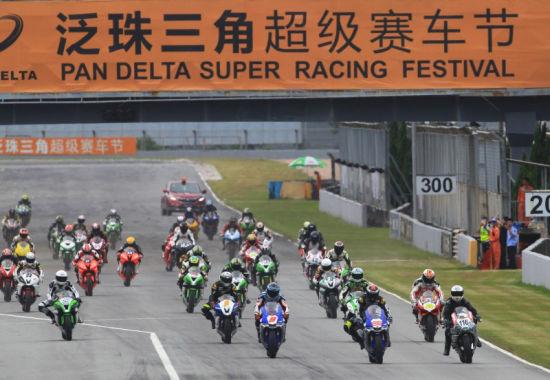 泛珠ZIC超级摩托车赛Race2:澳洲Mark梅开二度