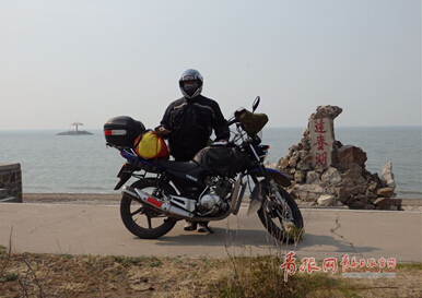 青岛大叔骑摩托车穷游挑战西藏漠河