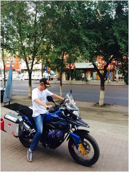 摩托车出境的经验教训宗申RX3欧亚游记0527-0528
