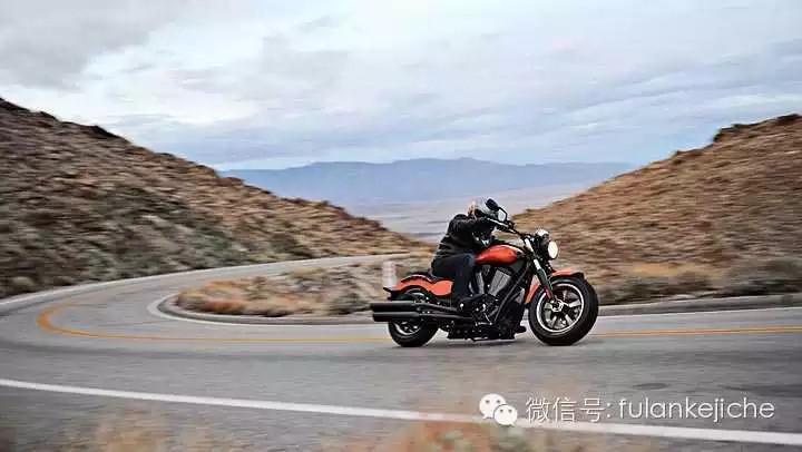 肌肉派性感玩物――胜利判官摩托车