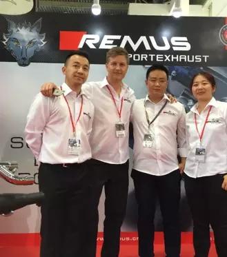 北京雅森中国国际改装展览-奥地利REMUS摩托车排气系