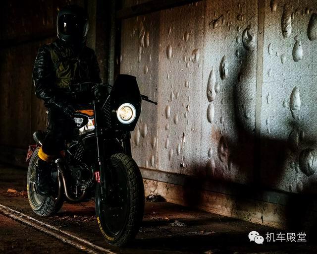 DucatiScrambler改装示范