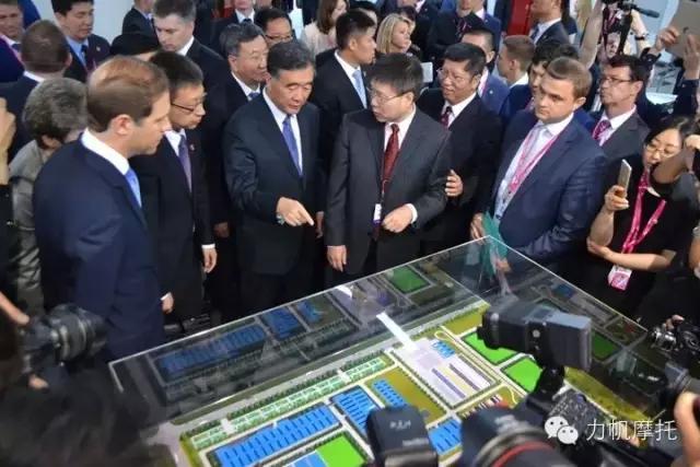 汪洋副总理嘱托俄工业与贸易部部长多支持力帆发展