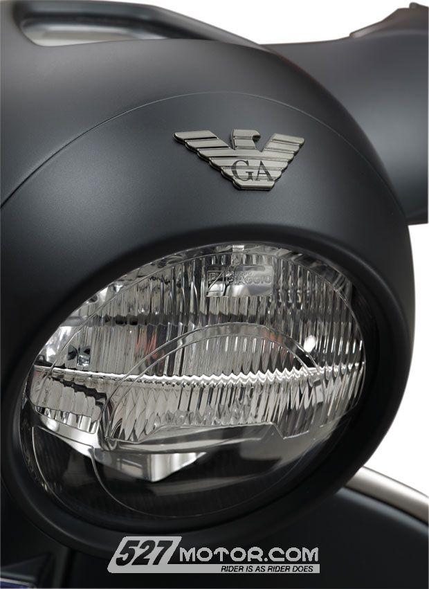 阿玛尼版VESPA946踏板售价16.8万9月开卖
