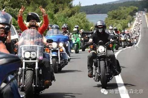 骑摩托车的理由温馨而感人的硬汉骑士