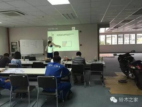 铃木V-Strom1000上海维修技术培训启动