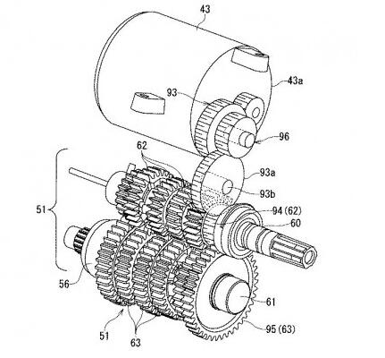 发动机变速箱结构图