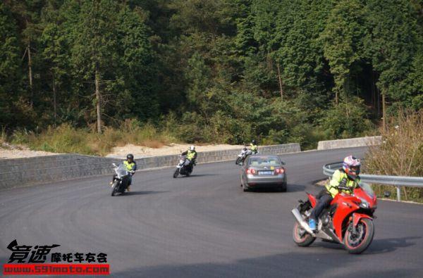 HondaDreamWing上海店四明山骑行活动