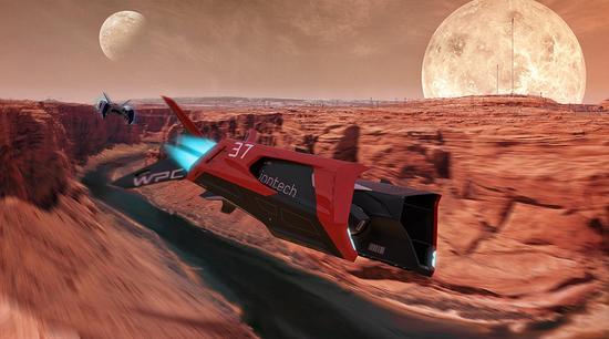 离开地球表面:来自科幻电影的飞行摩托