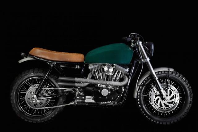 运动者的优雅Harley-DavidsonScrambler