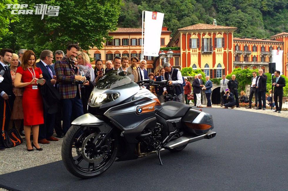 宝马概念摩托车Concept101首亮相