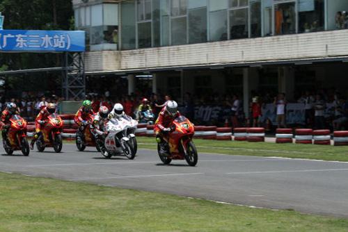 2015年全国公路摩托车锦标赛广东三水站落幕