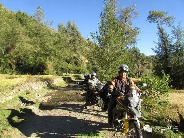 秘鲁摩友骑宗申RX3穿越秘境瓦斯卡兰公园