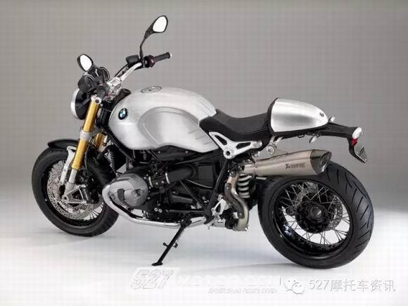 BMW为RnineT推出两款纯手工打造全铝油箱