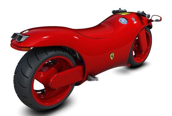 法拉利V4超级摩托车搭载法拉利ENZO全面亮相,震撼来