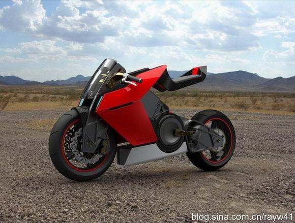 Shavit:未来感十足的电动摩托车